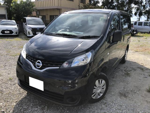 沖縄の中古車 日産 NV200バネットバン 車両価格 114.8万円 リ済別 平成28年 2.5万km スーパーブラック
