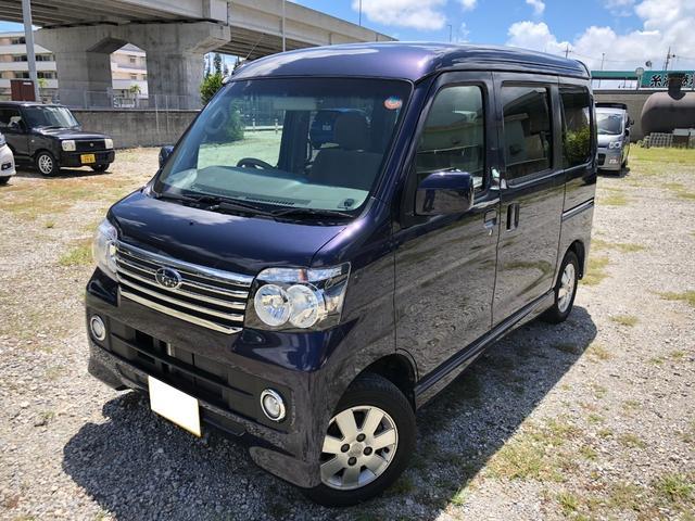 沖縄の中古車 スバル ディアスワゴン 車両価格 106.5万円 リ済別 2016(平成28)年 2.4万km 紺