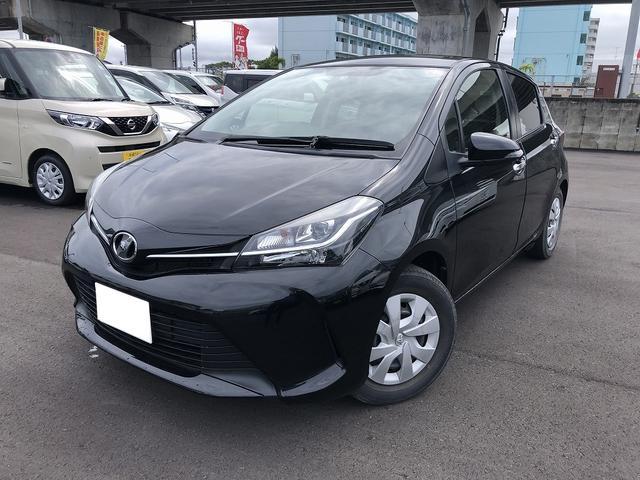 沖縄の中古車 トヨタ ヴィッツ 車両価格 108.4万円 リ済別 平成28年 3.0万km ブラックM