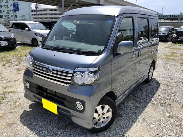 沖縄の中古車 スバル ディアスワゴン 車両価格 83万円 リ済別 2016(平成28)年 3.4万km グレー