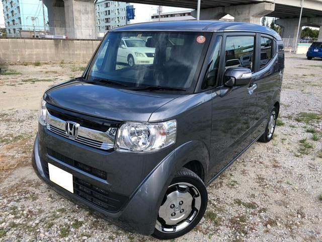沖縄の中古車 ホンダ N-BOXスラッシュ 車両価格 120.3万円 リ済別 2016(平成28)年 2.3万km ガンM