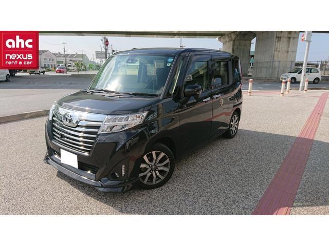 沖縄の中古車 トヨタ ルーミー 車両価格 137.8万円 リ済別 平成29年 2.0万km ブラック