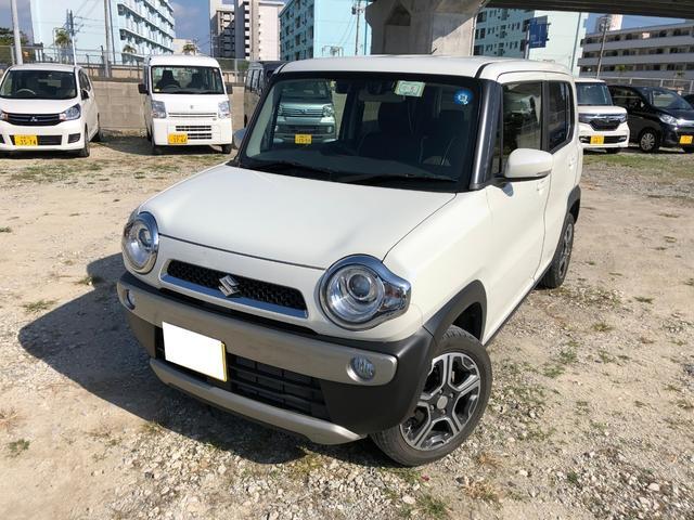 沖縄の中古車 スズキ ハスラー 車両価格 96万円 リ済別 2016(平成28)年 2.3万km ホワイト