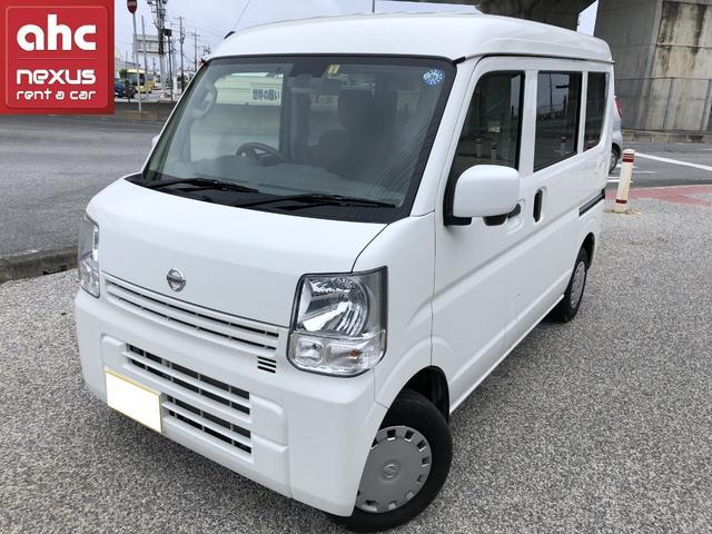 沖縄の中古車 日産 NV100クリッパーバン 車両価格 97万円 リ済別 2018(平成30)年 1.8万km ホワイト