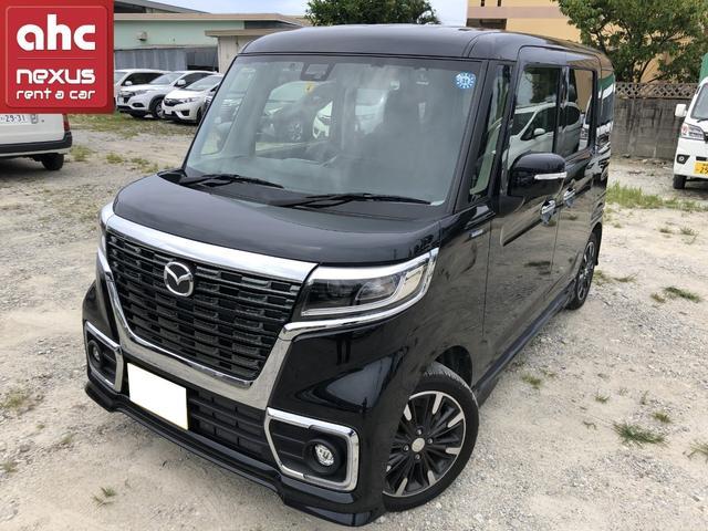 沖縄県糸満市の中古車ならフレアワゴンカスタムスタイル ハイブリッドXT