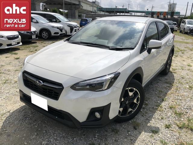 糸満市 ネクサスレンタカー株式会社 スバル XV 1.6i-L アイサイト ホワイト 1.1万km 2019(平成31)年