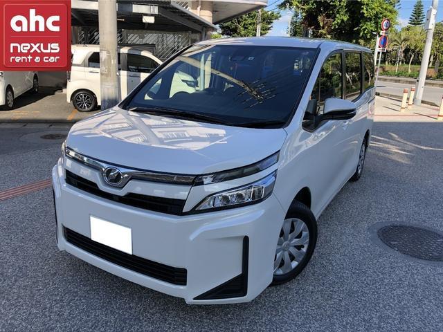 糸満市 ネクサスレンタカー株式会社 トヨタ ヴォクシー X ホワイト 0.1万km 2019(令和1)年