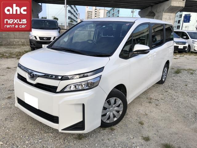 糸満市 ネクサスレンタカー株式会社 トヨタ ヴォクシー X ホワイト 0.2万km 2019(令和1)年
