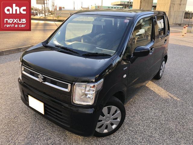 沖縄の中古車 スズキ ワゴンR 車両価格 136万円 リ済別 2019(平成31)年 0.7万km ブラック