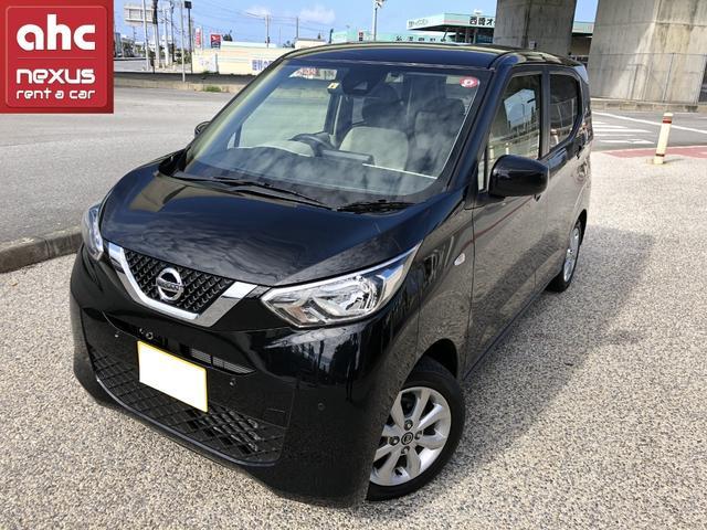 沖縄の中古車 日産 デイズ 車両価格 100.8万円 リ済別 2019(令和1)年 1.5万km ブラック