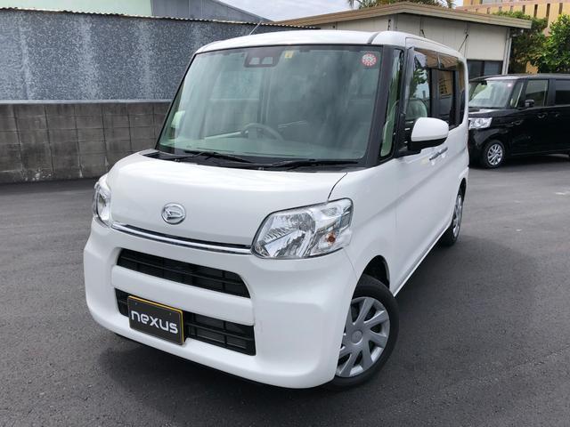 沖縄の中古車 ダイハツ タント 車両価格 105.8万円 リ済別 2019(平成31)年 1.3万km ホワイト