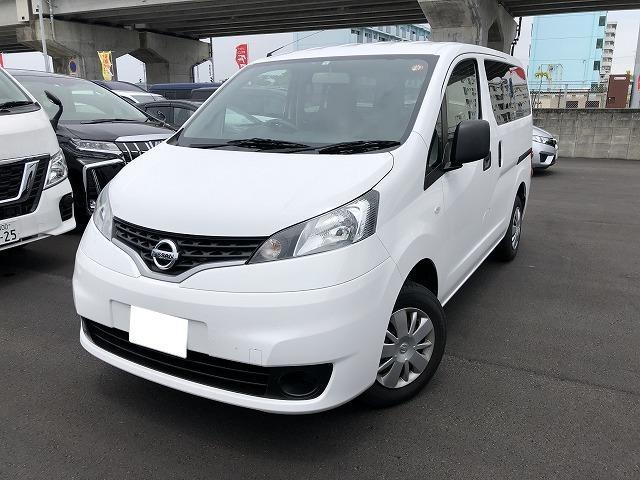 糸満市 ネクサスレンタカー株式会社 日産 NV200バネットバン VX ナビ・ETC・バックカメラ ホワイト 1.6万km 2019(平成31)年