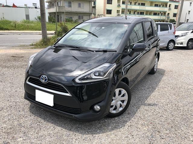 沖縄県の中古車ならシエンタ ハイブリッドG クエロ