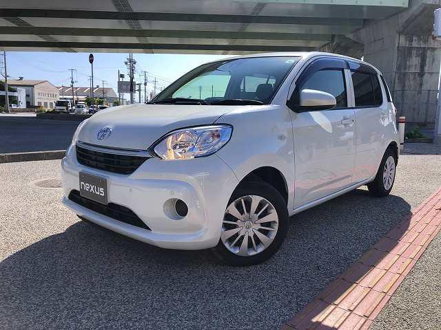 沖縄の中古車 トヨタ パッソ 車両価格 117.8万円 リ済別 2019(令和1)年 2.0万km ホワイト