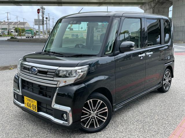 沖縄の中古車 スバル シフォン 車両価格 115.5万円 リ済込 2018(平成30)年 2.2万km ブラック