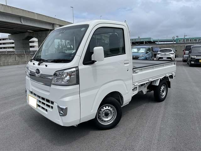 沖縄の中古車 スバル サンバートラック 車両価格 126.1万円 リ済別 2020(令和2)年 0.5万km ホワイト
