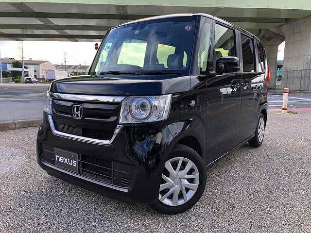 沖縄の中古車 ホンダ N-BOX 車両価格 118.8万円 リ済別 2020(令和2)年 1.1万km ブラック