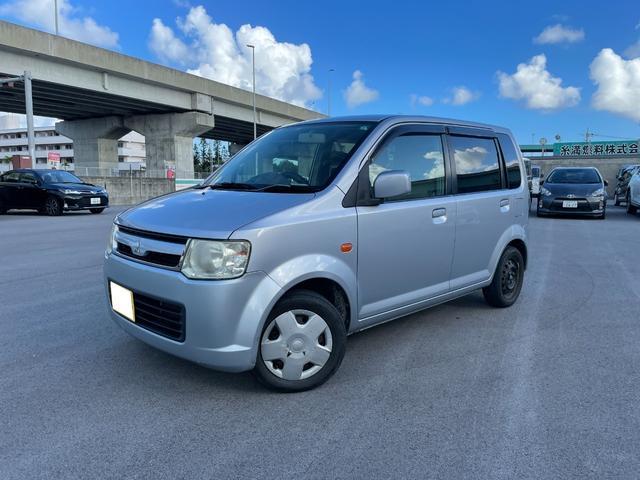沖縄の中古車 三菱 eKワゴン 車両価格 6万円 リ済込 2007(平成19)年 9.9万km シルバー