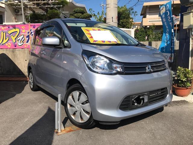 沖縄の中古車 三菱 eKワゴン 車両価格 73万円 リ済込 2015(平成27)年 3.6万km クールシルバーメタリック