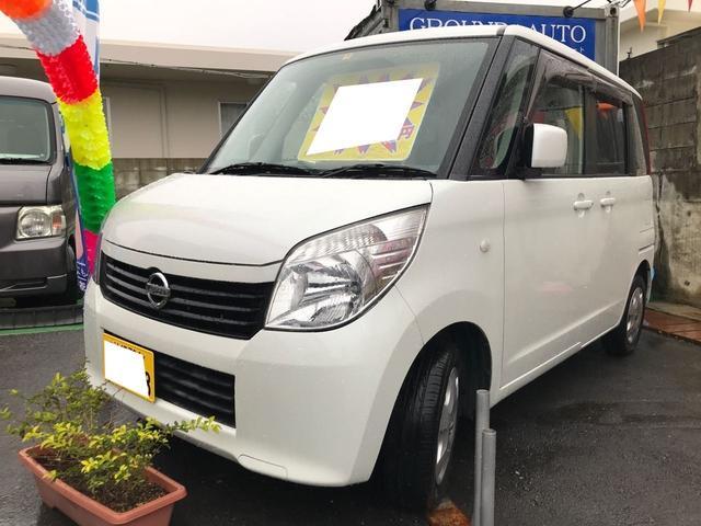 沖縄の中古車 日産 ルークス 車両価格 39万円 リ済込 2011(平成23)年 11.1万km スノーパールホワイト