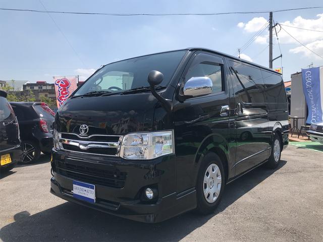 沖縄の中古車 トヨタ ハイエースバン 車両価格 250万円 リ済込 2013(平成25)年 10.2万km ブラックM