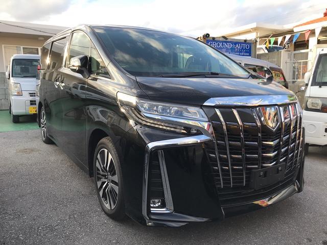 沖縄の中古車 トヨタ アルファード 車両価格 ASK リ済別 2020(令和2)年 43km ブラック