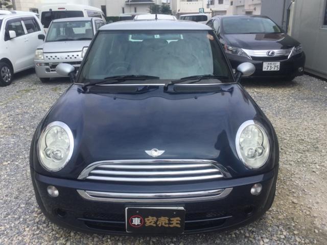 沖縄の中古車 MINI MINI 車両価格 38万円 リ済込 2006年 11.7万km ブルーII