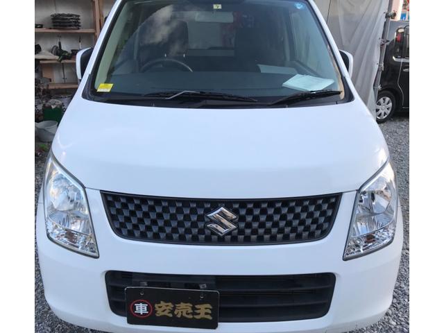 沖縄の中古車 スズキ ワゴンR 車両価格 34万円 リ済込 2012(平成24)年 6.5万km ホワイト
