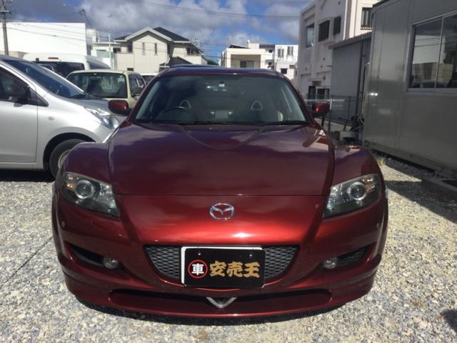 沖縄の中古車 マツダ RX-8 車両価格 36.5万円 リ済込 2006(平成18)年 9.7万km レッド
