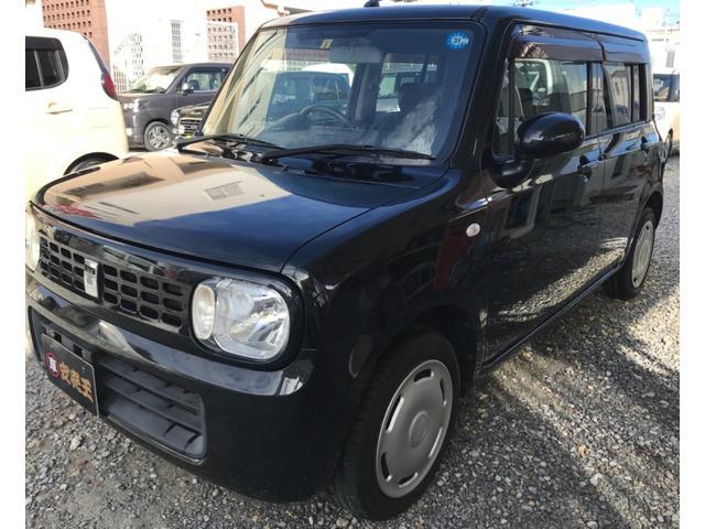 沖縄の中古車 スズキ アルトラパン 車両価格 34万円 リ済込 2009(平成21)年 4.7万km ブラック