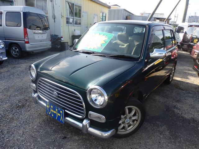 沖縄の中古車 ダイハツ ミラジーノ 車両価格 25万円 リ済込 2001(平成13)年 6.2万km グリーンM