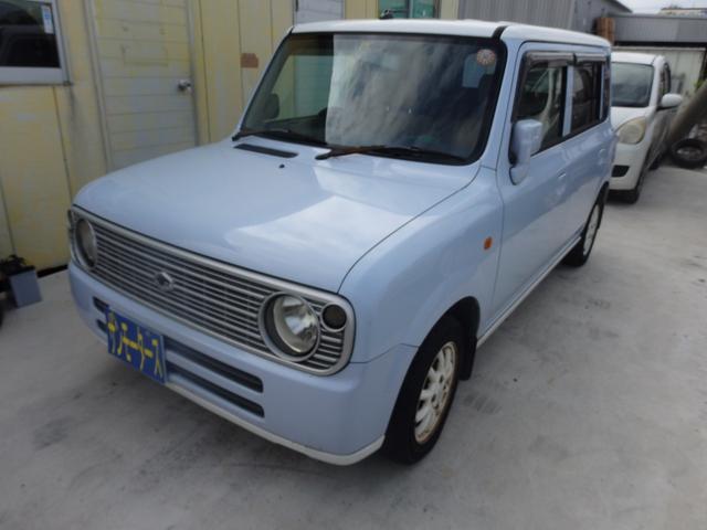 沖縄の中古車 スズキ アルトラパン 車両価格 23万円 リ済込 2006(平成18)年 10.1万km ライトブルーII