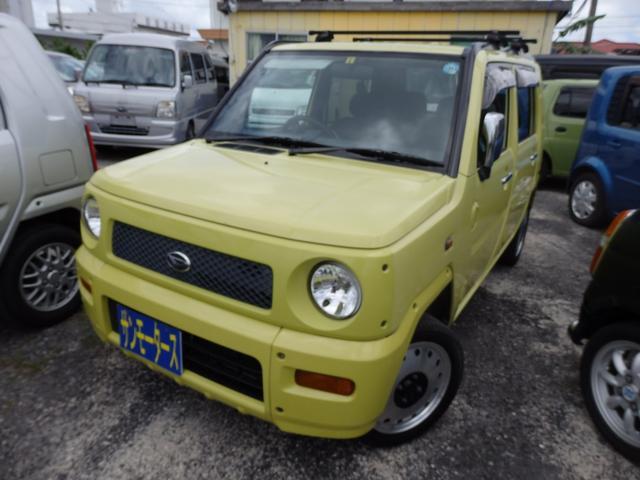 沖縄の中古車 ダイハツ ネイキッド 車両価格 23万円 リ済込 2001(平成13)年 13.4万km イエロー