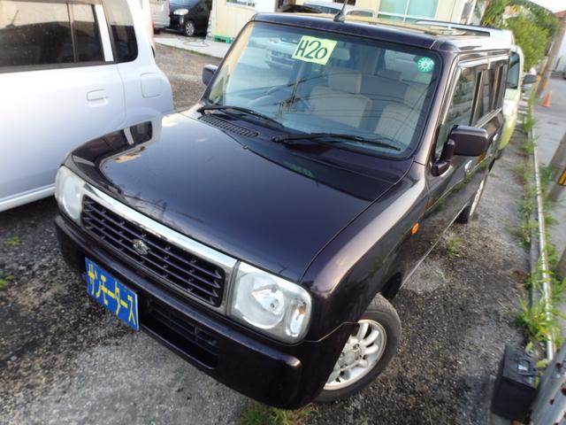 沖縄の中古車 スズキ アルトラパン 車両価格 28万円 リ済込 2008(平成20)年 8.6万km ワイン