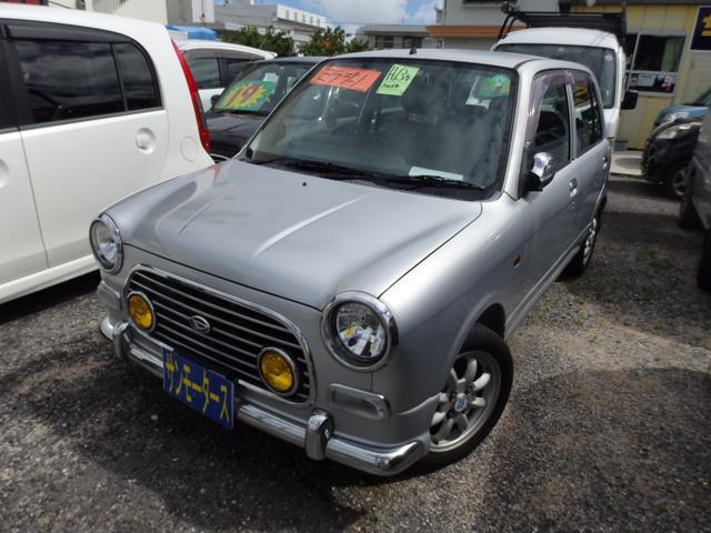 沖縄の中古車 ダイハツ ミラジーノ 車両価格 25万円 リ済込 2001(平成13)年 11.8万km シルバー