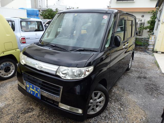 沖縄県の中古車ならタント カスタムX