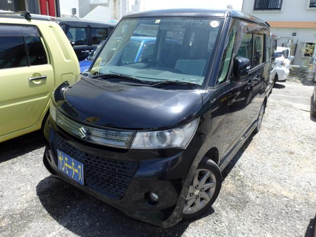 沖縄の中古車 スズキ パレットSW 車両価格 38万円 リ済込 2012(平成24)年 12.2万km ブラックM