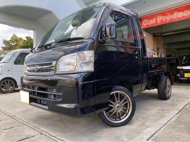 沖縄の中古車 ダイハツ ハイゼットトラック 車両価格 79万円 リ済別 2008(平成20)年 走不明 ブラックM