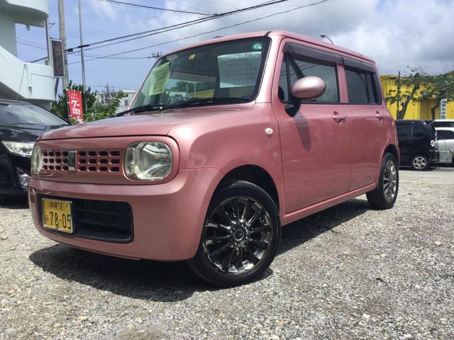 沖縄県の中古車ならアルトラパン G スマートキー プッシュスタート
