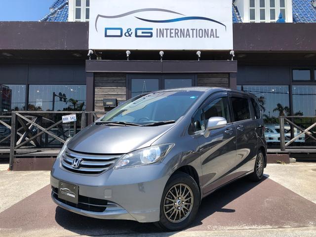 沖縄の中古車 ホンダ フリード 車両価格 45万円 リ済別 2011(平成23)年 7.3万km グレー