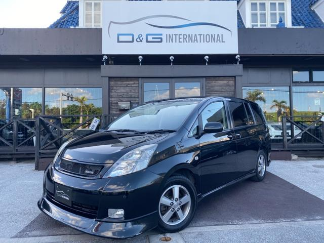 沖縄県の中古車ならアイシス プラタナ Gエディション キーレスキー HID HDDナビ ETC