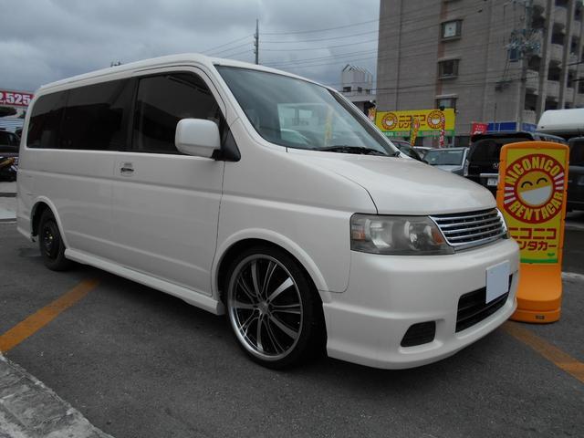 沖縄の中古車 ホンダ ステップワゴン 車両価格 39万円 リ済込 平成16年 9.3万km パール