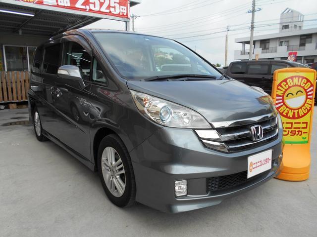 沖縄の中古車 ホンダ ステップワゴン 車両価格 65万円 リ済込 2009(平成21)年 9.3万km グレーM