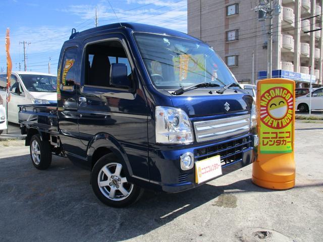 沖縄県の中古車ならスーパーキャリイ XディスチャージヘッドランプスピーカーウーハーCDキーレス