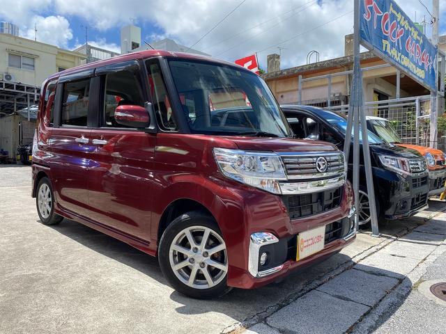沖縄県豊見城市の中古車ならタント カスタムX 後期・走行3万K・電動スライドドア・LEDライト・スマートキー・プッシュスタート・アイドリングストップ