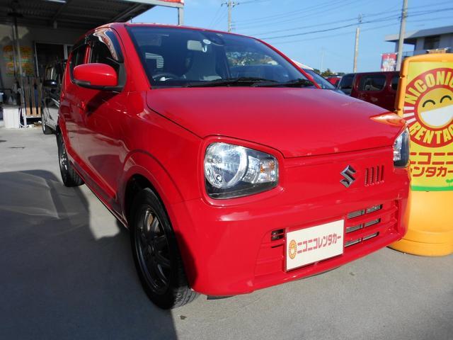 沖縄の中古車 スズキ アルト 車両価格 49万円 リ済込 2015(平成27)年 5.0万km レッド