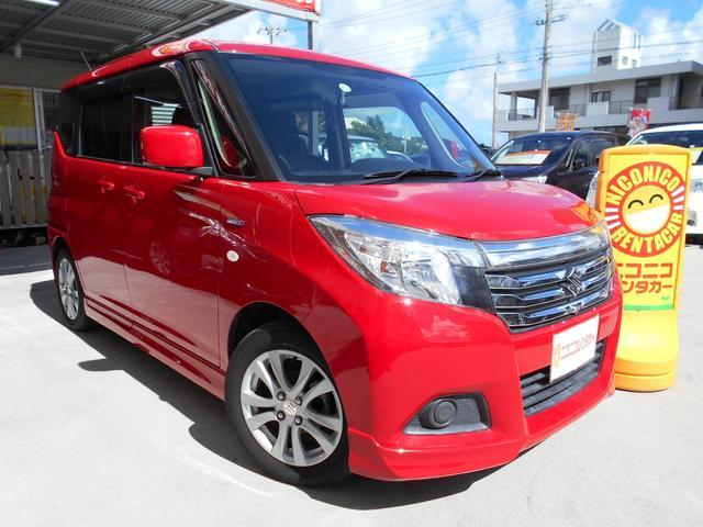 沖縄の中古車 スズキ ソリオ 車両価格 74万円 リ済込 2015(平成27)年 6.5万km レッド