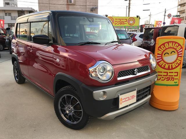 沖縄県豊見城市の中古車ならハスラー G ナビTV Bluetooth接続可プッシュスタートETC