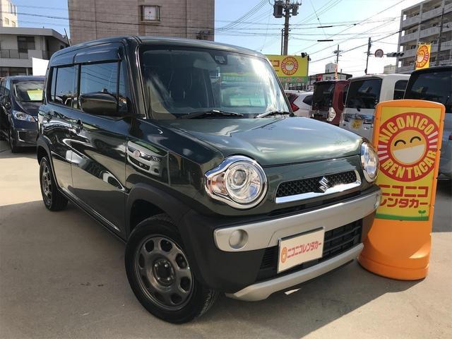 沖縄県の中古車ならハスラー Gターボ ナビTV DVDBluetooth接続可ドライブレコーダープッシュスタートバックカメラブレーキサポートETC