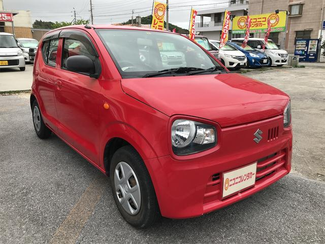 沖縄県豊見城市の中古車ならアルト L アイドリングストップキーレス純正CDAUXシートヒーター横滑り防止装置